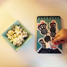 Bombotti, Paradiisi sandwich tray, popcorn, candy and mint for sweet tooth, photo Viivi Lehto