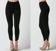 Charcoal curved hem leggings.  Fits true to size.