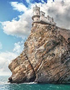 Swallow's Nest Castle in Ukraine