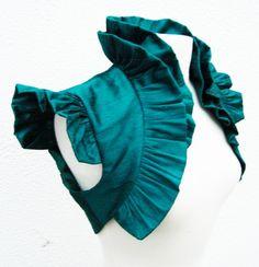 Victorian bolero in blue <3