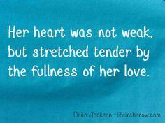 Her heart ~ Love In Blue
