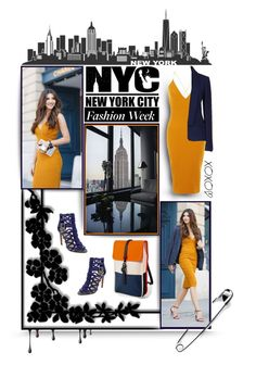 :::NYFW::: by todahjesus on Polyvore featuring polyvore fashion style AX Paris Michael Kors Vince Camuto Rains women's clothing women's fashion women female woman misses juniors