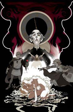 Frank Stockton Illustration: Last Unicorn 5th Cover