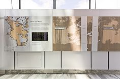 Canadian Museum of Nature Donor and History Wall I designed at R+P
