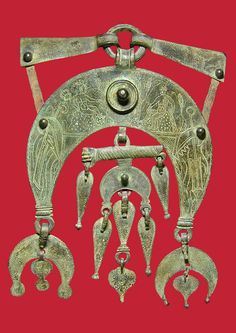 Pectoral of a Roman cavalry horse from the second half of first century AD. Probably from the Rhine.