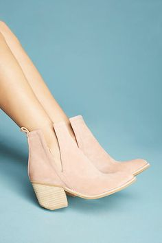 be5c68b5be36 Jeffrey Campbell Orwell Boots booties cut out flattering comfy comfortable  pink blush dusty rose spring fall summer chunky heels outfit