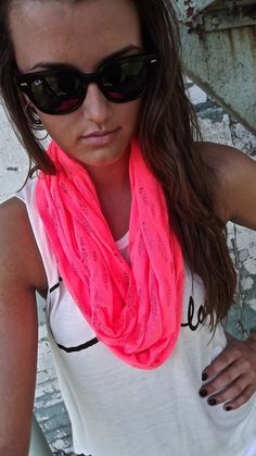 Hot Pink Scarf