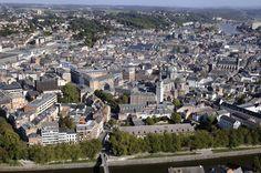 View over the city of Namur, Belgium