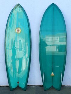5'10 Hanel Twin Keel  i love the fish cut surfboards reminds me of my first board.