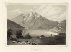 Norge fremstillet i Tegninger - Joachim Frich - Sogndal.  jpg (4896×3592)