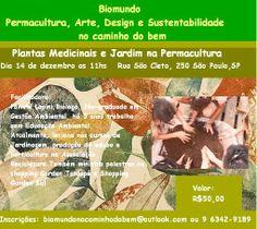 Plantas medicinais e jardim na Permacultura - Rede PSB