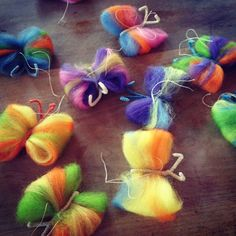 Waldorf School of Philadelphia-fairy wool and pipe cleaners
