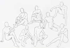 drawing poses | Poses sketch 3 by ~aninha26 on deviantART