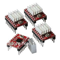 Cheap heatsink case, Buy Quality heatsink copper directly from China heatsink laptop Suppliers:  A4988 Stepper Motor Driver+ Heatsink For 3D Printer   Description:1. A4988 Stepper Motor DriverThis