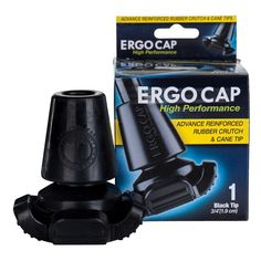 Ergocap Four-Legged High Performance CErgocap Four-Legged High Performance Crutch Rubber Tip Black 1.0   ea ★★★★★  Be the first to review this product $18.99rutch Rubber Tip Black