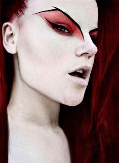 Bat wing eyebrows! #WinWayneGossTheCollection