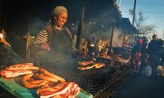 Fantastisk street food finns på Idada Avenue i Kapstaden. Street Food, Painting, Painting Art, Paintings, Drawings