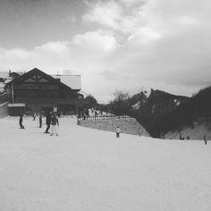 First snow...#ski #wellbeing #saturday