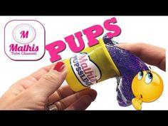 DIY FURZ SCHLEIM | Pups Slime | NOISE PUTTY selber machen | Anleitung - YouTube