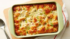 This savory bubble-up bake has delicious chicken cordon bleu flavor, making it an easy weeknight dinner for your family.