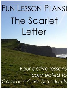 fun lesson plans the scarlet letter by daniel robert sullivan http