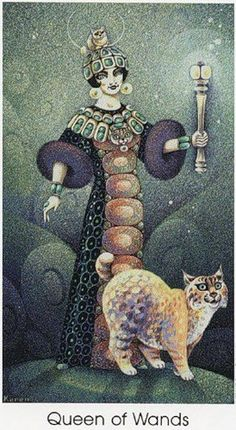Галерея Tarot of the Cat People – 80 фотографий