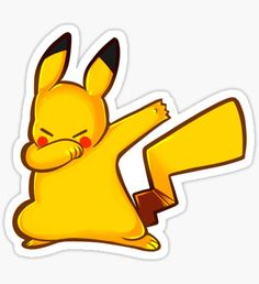 Just dab Sticker