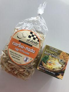 Spinach Artichoke Chicken Fettuccine/ Pound Dropper's recipe Skinny Recipes, Ww Recipes, Low Carb Recipes, Healthy Recipes, Healthy Eats, Recipies, Veggie Recipes, Eating Healthy, Healthy Cooking