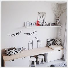 Best Boys Bedrooms Designs Ideas and Decor For Inspiration Boys Bedroom Sets, Kids Bedroom, Baby Room Decor, Bedroom Decor, Wall Decor, Ikea Stuva, Casa Kids, Scandinavian Kids, Kids Corner