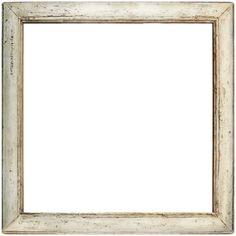 white wood frame
