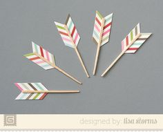 Cupid Arrow Toppers | Lisa Storms