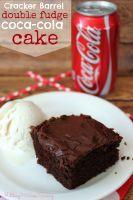 Cracker Barrel Double Fudge Coca-Cola Cake Recipe