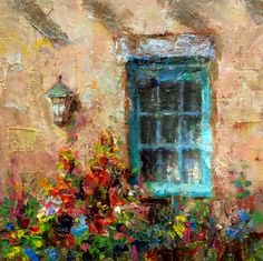 Late Summer in Santa Fe, painting by artist Julie Ford Oliver
