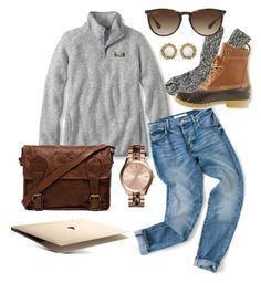 """""""Comment your opinion of me. BE HONEST"""" by robramey17 ❤ liked on Polyvore featuring moda, VIPARO, J.Crew, L.L.Bean, Kendra Scott, Michael Kors y Ray-Ban"""