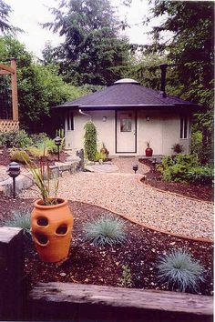 Oregon Yurt Works. Search the Flikr pool for amazing permanent round houses, add-ons, interior ideas, and more.