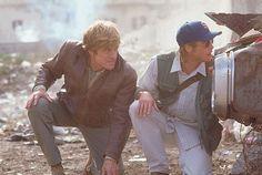 Brad Pitt & Robert Redford, Spy Game.  ultimate fav movie