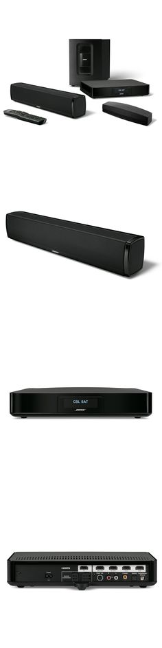 Home Theater Systems: New Bose Soundtouch 120 Home Theater System - Black -> BUY IT NOW ONLY: $749.0 on eBay!