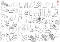 Study: Feet by *nai-XaIn on deviantART