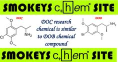 DOC Research Chemical is Similar to DOB Chemical Compound