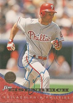 Former MLB player Jim Eisenreich has Tourette's syndrom causing him to have involuntary shakes and trouble breathing when he was in the baseball field. He retired to undergo treatment and has established the Jim Eisenreich Foundation for Children with Tourette's syndrome.