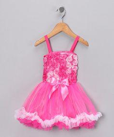 Look at this Princess Expressions Pink Rose Princess Dress - Toddler & Girls on today! Toddler Girl Dresses, Girls Dresses, Flower Girl Dresses, Toddler Girls, Dress Up Outfits, Cute Girl Outfits, Toddler Fashion, Girl Fashion, Princess Outfits