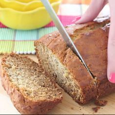 There is no better use for stale bananas than banana bread.