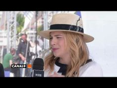 Chloe at the Cannes Film Festival (May Sils Maria, Films Youtube, Cannes Film Festival, Cannes 2014, Panama Hat, Competition, Interview, Olive Tree, Panama