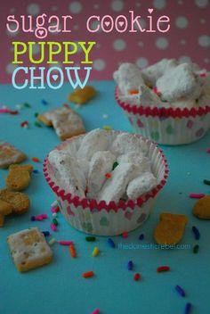 Sugar Cookie Puppy Chow