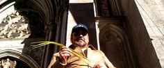 Artur Coral-Folleco en la Catedral de San Patricio en Manhattan, Nueva York, el domingo de ramos. NYC, 9 de abril de 2006. Semana Santa 2006 - Internacional Ipiales Nariño Colombia AC-F Ipitimes.