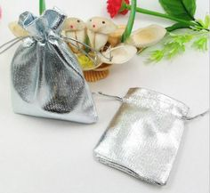 Find More Packaging Bags Information about 9*12cm 100pcs  Handmade Silver Drawstring Bags for Wedding/Party/Christmas/Gift/Jewelry  Pouches Packaging Bags,High Quality silver sequin bag,China bag chrome Suppliers, Cheap bag zipper from Playful beauty department store on Aliexpress.com