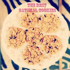 Lauren Conrad's Oatmeal Cookie Recipe