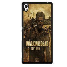 The Walking Dead Daryl Dixon TATUM-11075 Sony Phonecase Cover For Xperia Z1, Xperia Z2, Xperia Z3, Xperia Z4, Xperia Z5