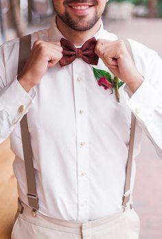 Жаркое лето: 95 стильных идей для жениха, бабочка жениха - The-wedding.ru
