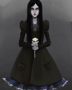 Alice Liddell, Alice Madness Returns, Dark Art, Alice In Wonderland, Claire, Hermes, Scary, Concept Art, Gothic